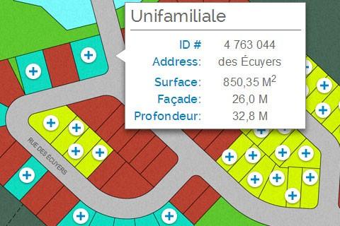 Trouver disponible terrains à vendre